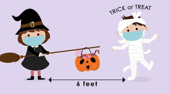Trick or Treat at 6 Feet