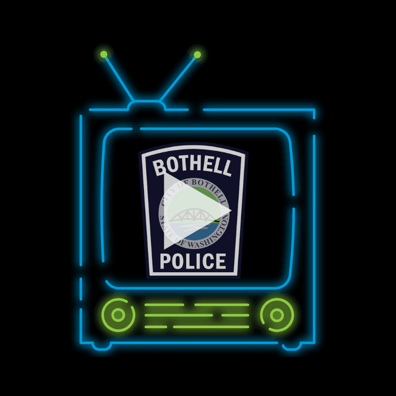 Bothell police tv image