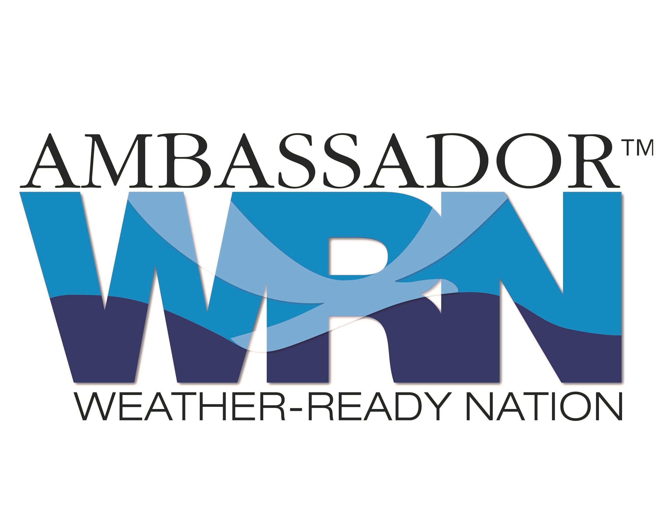 Weather Ready Nation Ambassador Logo